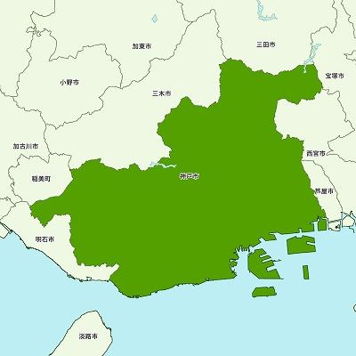 神戸市地図