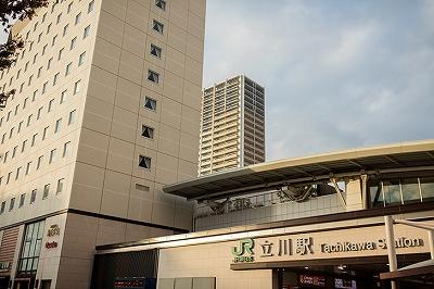 立川駅写真